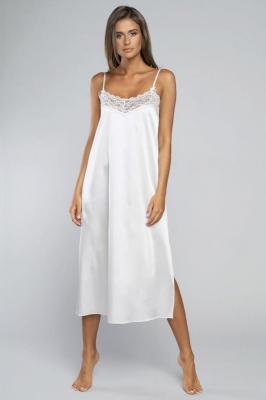 Italian Fashion Dotyk ws.r. długa Nocna koszula, ecru