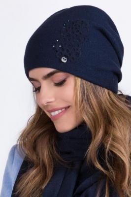 Kamea Serena Nakrycie głowy czapka, granat