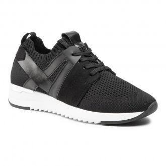 Sneakersy CAPRICE - 9-23711-26 Black Knit Com 023