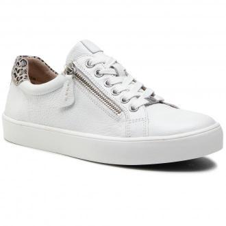 Sneakersy CAPRICE - 9-23656-26 White nappa Co 133