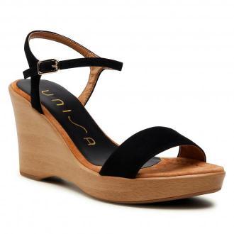 Sandały UNISA - Rita 21 Ks Black