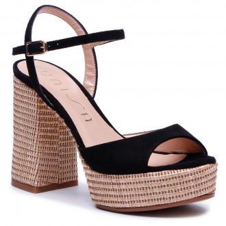 Sandały UNISA - Vegara 21 Ks Rr Black