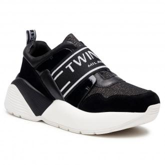 Sneakersy TWINSET - Running 202TCP052 Nero 00006