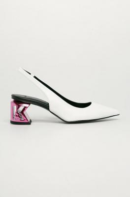 Karl Lagerfeld - Czółenka skórzane