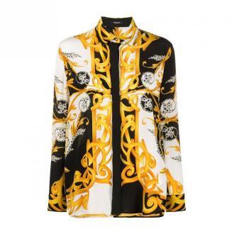 Versace Shirts Bluzki i koszule Biały Dorośli Kobiety Rozmiar: 42 IT