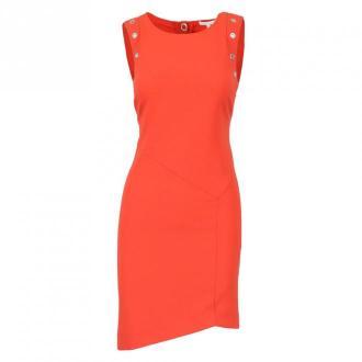 Patrizia Pepe Sukienka 8A0773 A6F5 Sukienki Czerwony Dorośli Kobiety