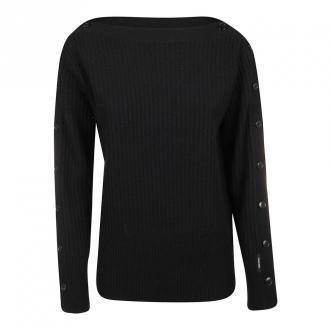 Calvin Klein Sweater Swetry i bluzy Czarny Dorośli Kobiety Rozmiar: XS