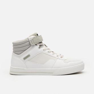 Cropp - Sneakersy za kostkę - Biały
