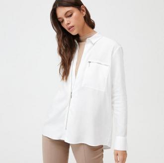 Mohito - Koszula z lyocellu Eco Aware - Biały