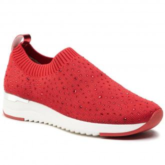 Sneakersy CAPRICE - 9-24700-26 Red Knit 543