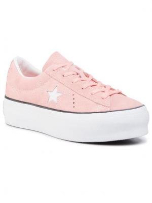 Converse Sneakersy One Star Platform Ox Różowy