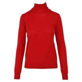 Patrizia Pepe Golf Swetry i bluzy Czerwony Dorośli Kobiety Rozmiar: M