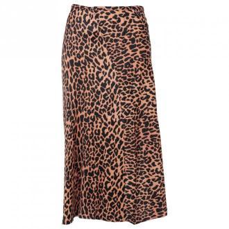 Scotch & Soda Midi Skirt Spódnice Brązowy Dorośli Kobiety Rozmiar: XS