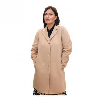 Marella Coat Płaszcze Beżowy Dorośli Kobiety Rozmiar: 46 IT