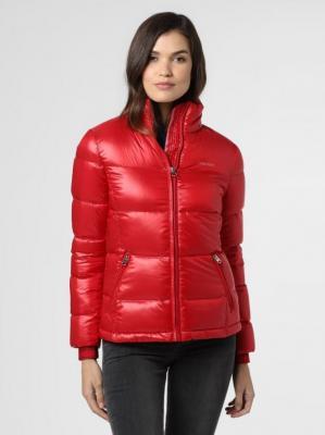 Calvin Klein - Damska kurtka puchowa, czerwony