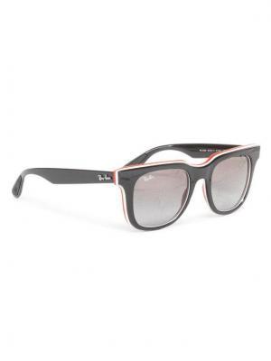 Ray-Ban Okulary przeciwsłoneczne Blaze Meteor 0RB4368 651811 Czarny