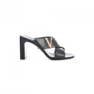 Versace Sandały Obuwie Czarny Dorośli Kobiety Rozmiar: 37