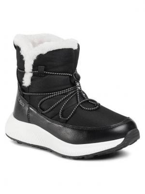 CMP Śniegowce Sheratan Wmn Lifestyle Shoes Wp 30Q4576 Czarny