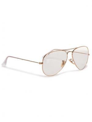 Ray-Ban Okulary przeciwsłoneczne Aviator Large Classic 0RB3025 001/5F Złoty