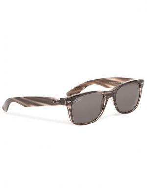 Ray-Ban Okulary przeciwsłoneczne New Wayfarer 0RB2132 6430B1 Szary