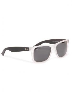 Ray-Ban Okulary przeciwsłoneczne Justin 0RB4165 6512/87 Biały