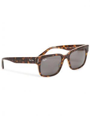 Ray-Ban Okulary przeciwsłoneczne Jeffrey 0RB2190 1292B1 Brązowy