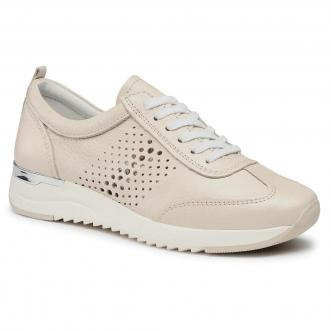Sneakersy CAPRICE - 9-23500-26 Ecru Deer Perl 145