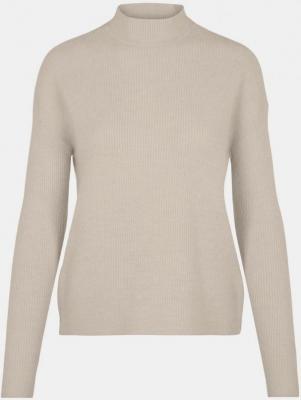 Kremowy sweter ze stójką VERO MODA - S