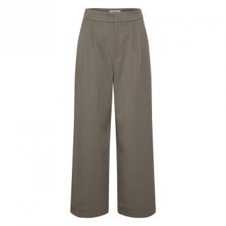 Gestuz Trousers Abi culotte So21 Spodnie Brązowy Dorośli Kobiety