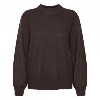 Saint Tropez Pullover Swetry i bluzy Brązowy Dorośli Kobiety Rozmiar: