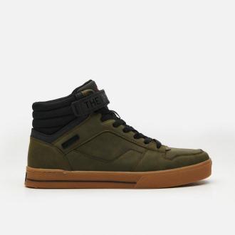 Cropp - Sneakersy za kostkę - Khaki