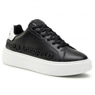 Sneakersy KARL LAGERFELD - KL62210 Black Lthr