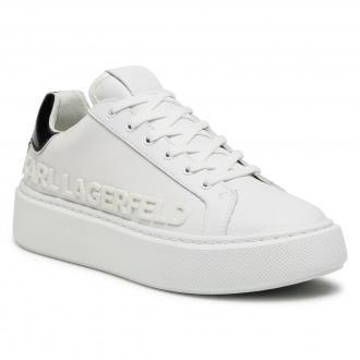 Sneakersy KARL LAGERFELD - KL62210  White Lthr