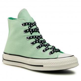 Trampki CONVERSE - Chuck 70 Hi 164210C  Aphid Green/Black
