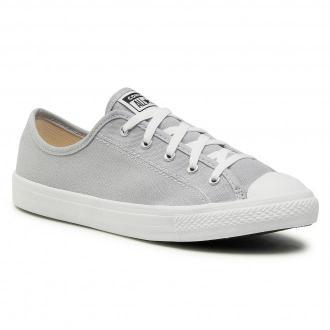 Trampki CONVERSE - Ctas Dainty Ox 566770C Wolf Grey/White/White