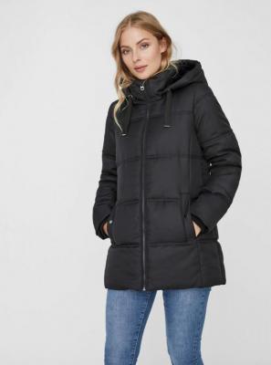Czarna pikowana kurtka zimowa VERO MODA Neat - XS