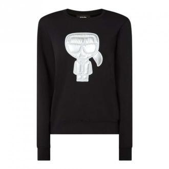 Karl Lagerfeld Bluza Swetry i bluzy Czarny Dorośli Kobiety Rozmiar: S