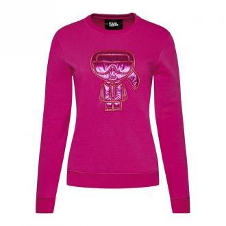 Karl Lagerfeld Bluza Swetry i bluzy Różowy Dorośli Kobiety Rozmiar: S