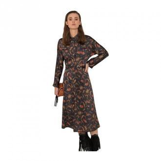 Silvian Heach Dress Sukienki Brązowy Dorośli Kobiety Rozmiar: L