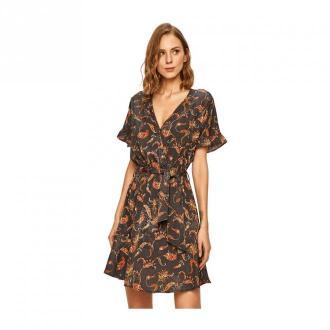 Silvian Heach Dress Sukienki Brązowy Dorośli Kobiety Rozmiar: XL