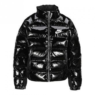Nike Outerwear Cu6712P Kurtki Czarny Dorośli Kobiety Rozmiar: S