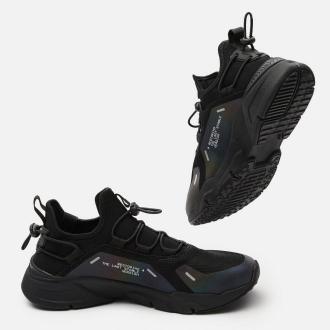 Cropp - Sneakersy z kontrastowymi elementami - Czarny
