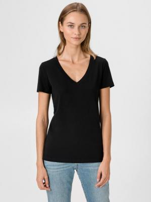 GAP czarna koszulka damska - XXS