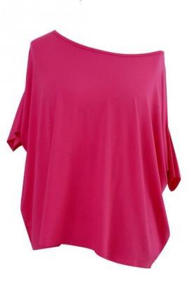 Różowa bluzka oversize dagmara