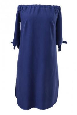 Granatowa sukienka hiszpanka - marita 4 (50/52)