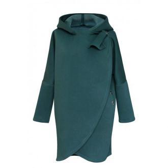 Butelkowa ciepła bluza z kapturem - neva xl (44)