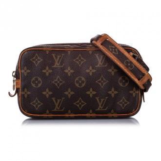 Louis Vuitton Monogram Marly Bandouliere Torby Brązowy Dorośli Kobiety