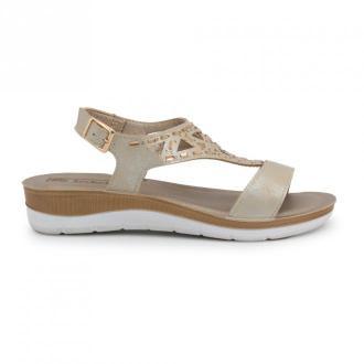 Inblu Flat sandals Bv000016 Obuwie Żółty Dorośli Kobiety Rozmiar: 39