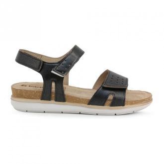 Inblu Flat sandals Pg000020 Obuwie Czarny Dorośli Kobiety Rozmiar: 39