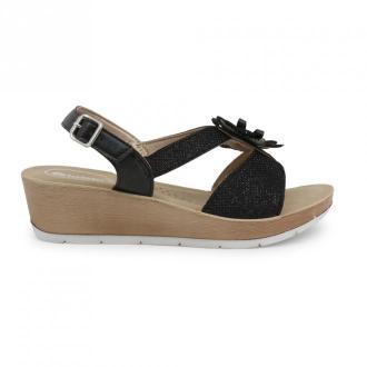 Inblu Flat sandals Rn000005 Obuwie Czarny Dorośli Kobiety Rozmiar: 37